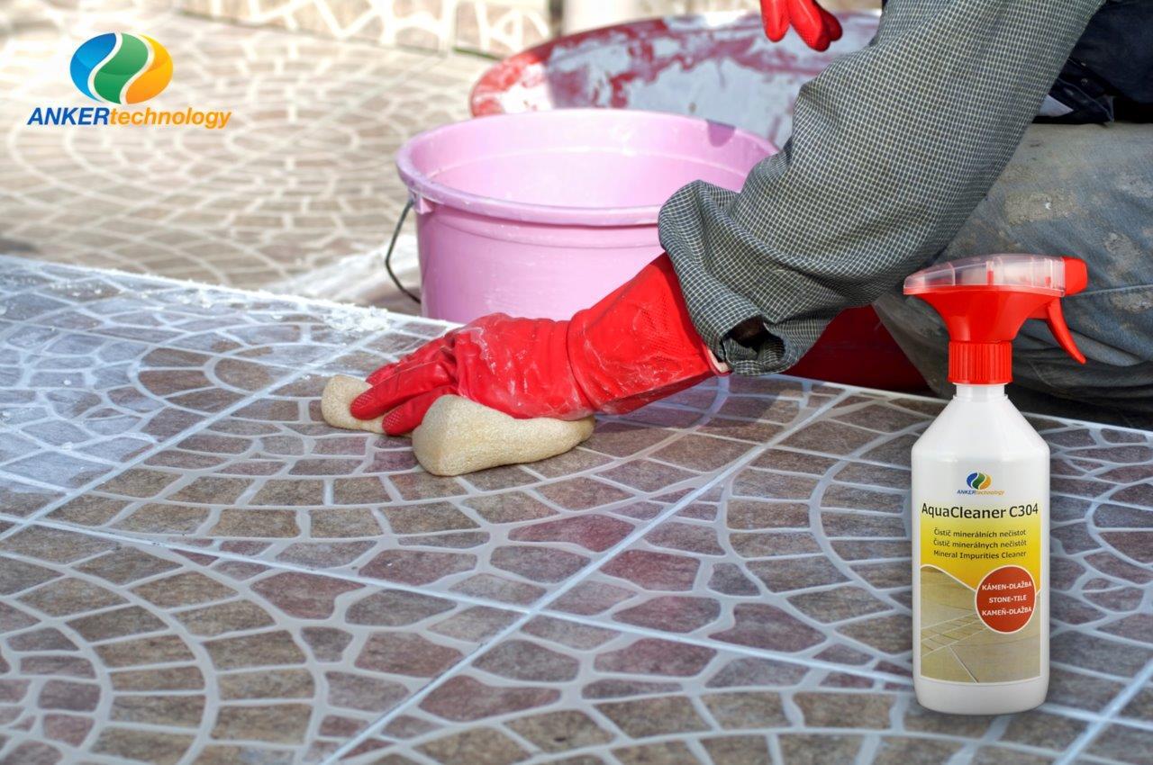Odstraňovač vápenatých výkvetov a znečistenia od cementov