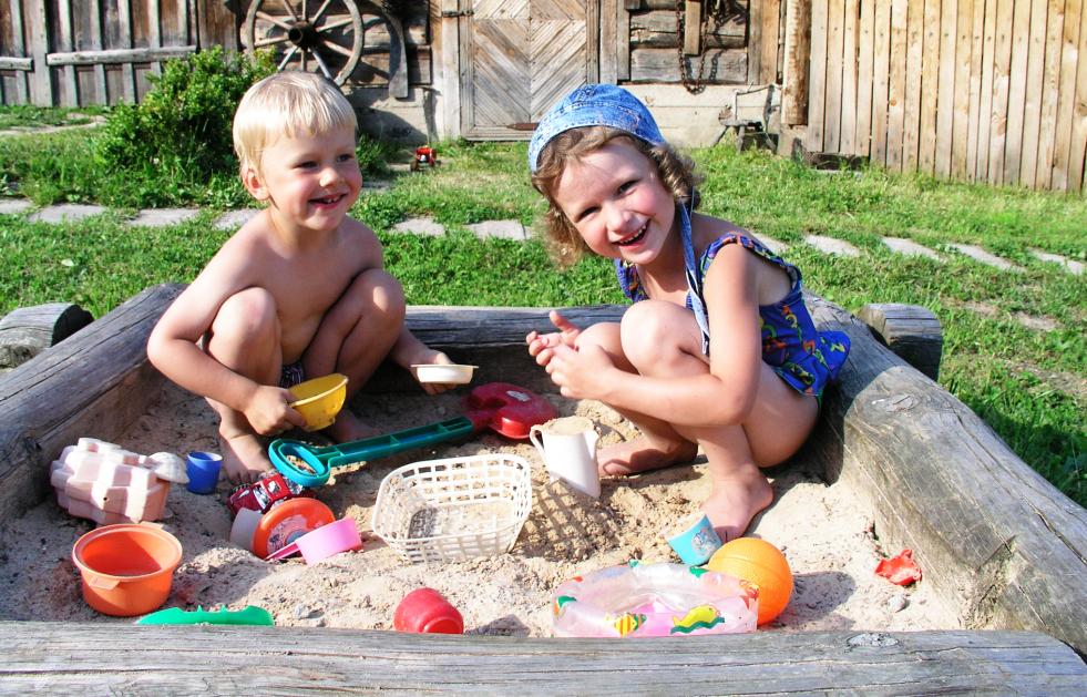 Dezinfekcia pieskovísk, detských hračiek a zariadení
