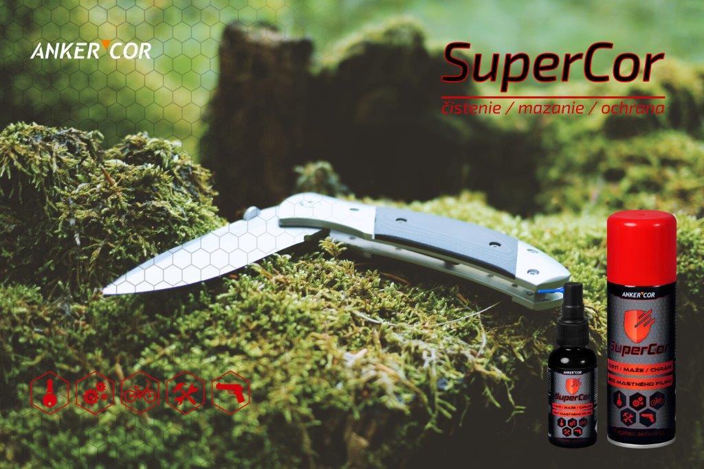 SuperCor - čistenie a ošetrenie nožov