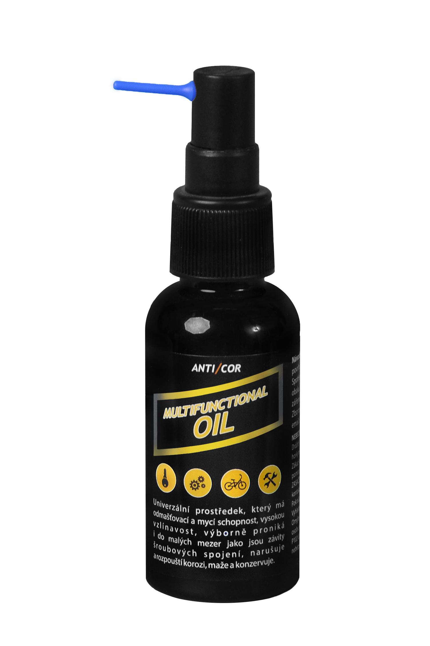 MultiCor-špeciálny viacúčelový olej s antikoroznym účinkom